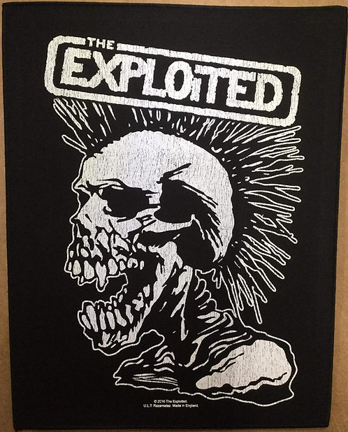 THE EXPLOITED - Punk Back Patch