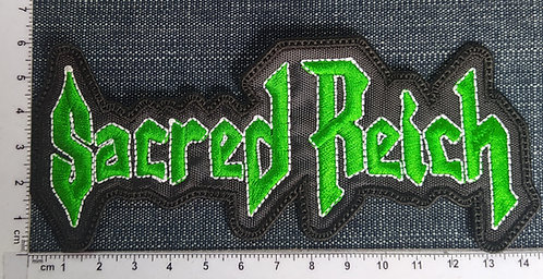 SACRED REICH - LOGO EMBROIDERED PATCH