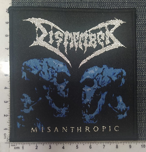 DISMEMBER - MISANTHROPIC WOVEN PATCH