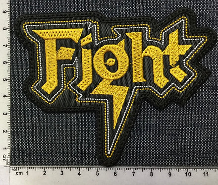 FIGHT - LOGO EMBROIDERED PATCH