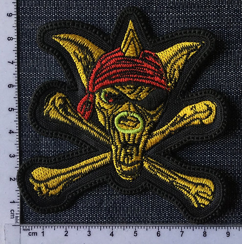 RUNNING WILD - ADRIAN EMBROIDERED PATCH