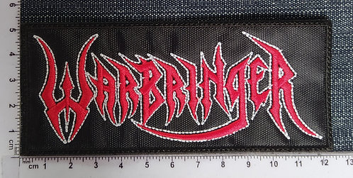 WARBEINGER - LOGO EMBROIDERED PATCH