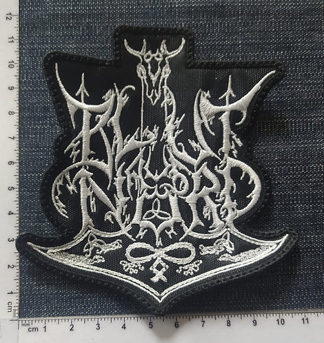 BLUT AUS NORD - LOGO EMBROIDERED PATCH