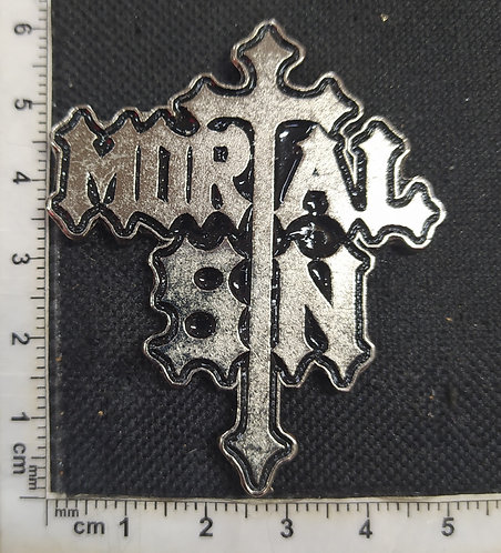 MORTAL SIN - Metal Pin