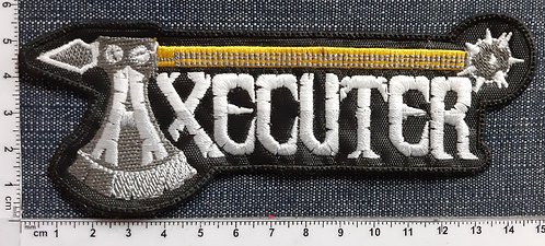 AXECUTER - AXE LOGO EMBROIDERED PATCH