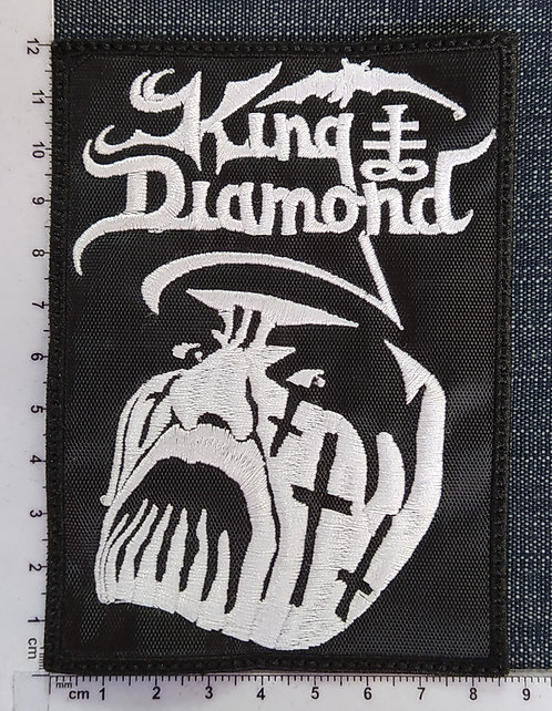 KING DIAMOND - FACE EMBROIDERED PATCH