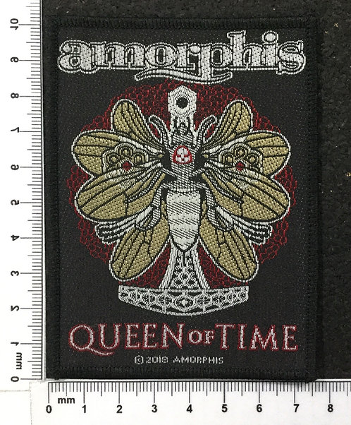 AMORPHIS - QUEEN OF TIME WOVEN PATCH