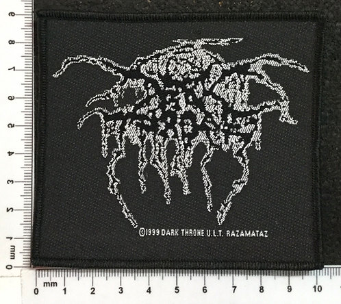 DARK THRONE - LOGO WOVEN PATCH