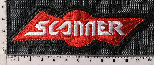 SCANNER - LOGO EMBROIDERED PATCH