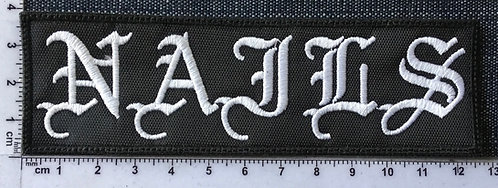 NAILS - LOGO EMBROIDERED PATCH