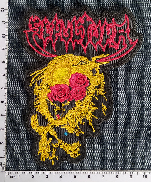 SEPULTURA - BENEATH THE REMAINS SHAPE EMBROIDERED PATCH