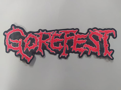 GOREFEST - LOGO EMBROIDERED BACKPATCH