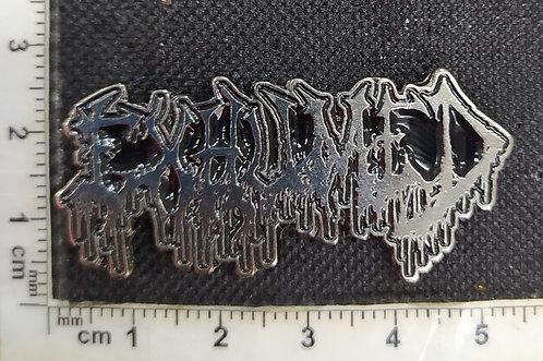 EXHUMED-  LOGO  METAL PIN