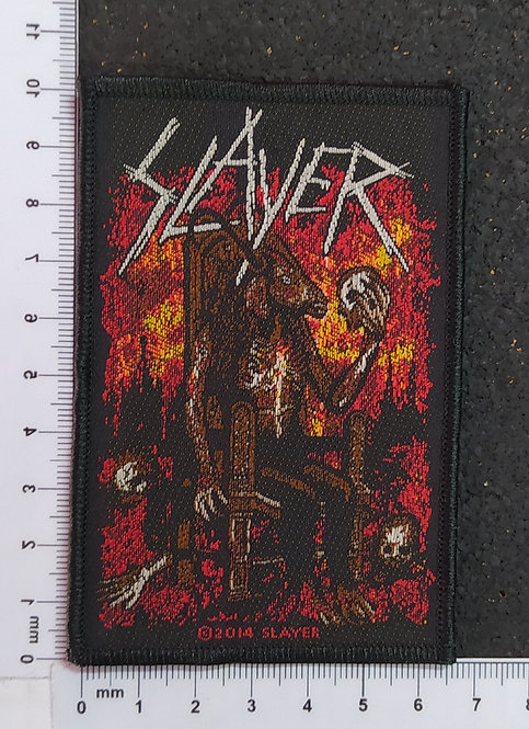 SLAYER - GOAT WOVEN PATCH