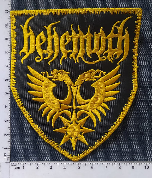 BEHEMOTH - EAGLES SHIELD EMBROIDERED PATCH