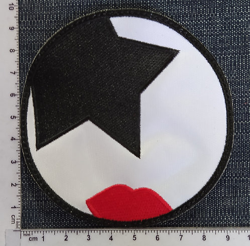 KISS - FACES EMBROIDERED PATCH