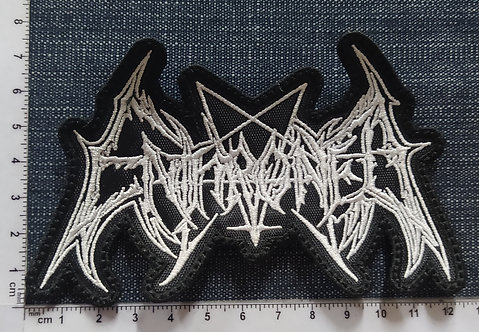 ENTHRONED - LOGO EMBROIDERED PATCH