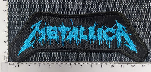 METALLICA - ONE LOGO EMBROIDERED PATCH