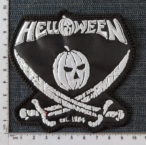 HELLOWEEN - PIRATE PUNKPIN EMBROIDERED PATCH