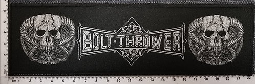 BOLT THROWER Who Dares Wins strip Woven Patch