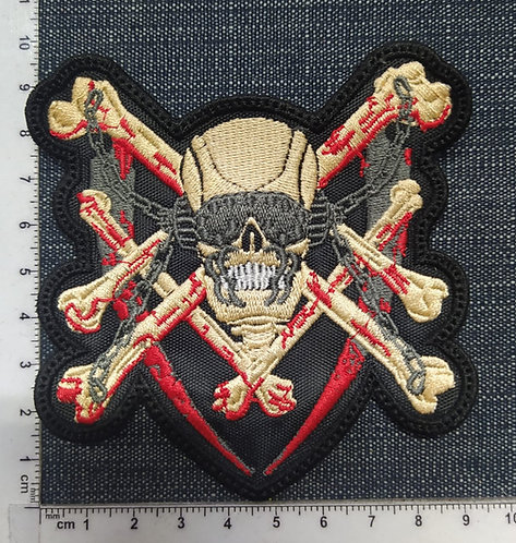 MEGADETH - KILLING IS MY BUSSINES EMBROIDERED PATCH
