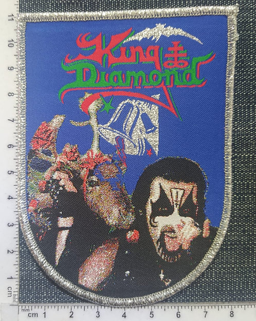 KING DIAMOND - NO PRESENTS FOR CHRISTMAS WOVEN PATCH