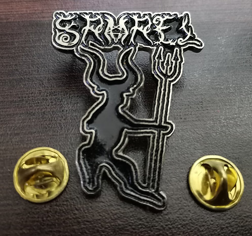 SAMAEL - MEDIEVAL PROPHECY Metal Pin