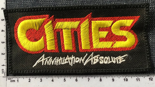 CITIES - LOGO EMBROIDERED PATCH