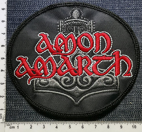 AMON AMARTH - Logo Oval EMBROIDERED PATCH