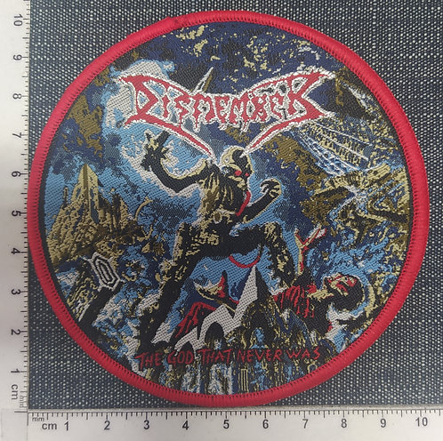 DISMEMBER - The God That Never Was WOVEN PATCH