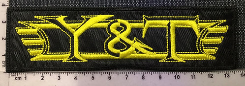 Y&T - LOGO EMBROIDERED PATCH