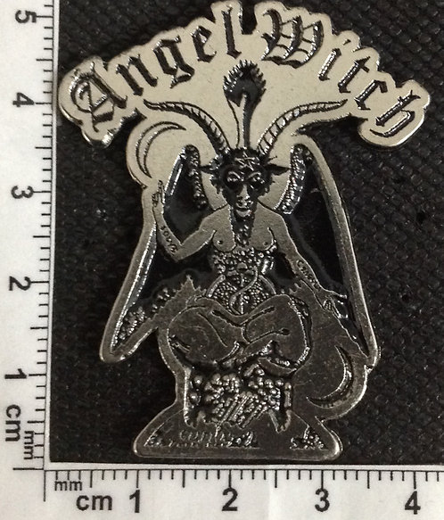 ANGEL WITCH - GOAT Metal Pin