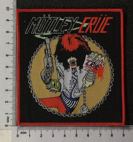 MOTLEY CRUE - CHINA WOVEN PATCH