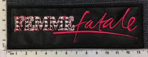 FEMME FATALE - LOGO EMBROIDERED PATCH