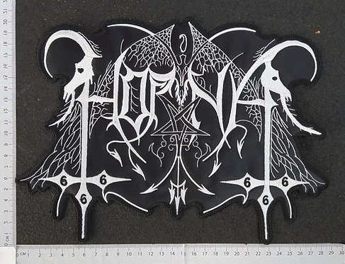 HORNA - LOGO EMBROIDERED Back Patch