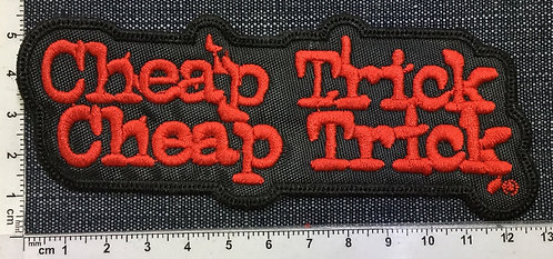 CHEAP TRICK, CHEAP TRICK - EMBROIDERED PATCH