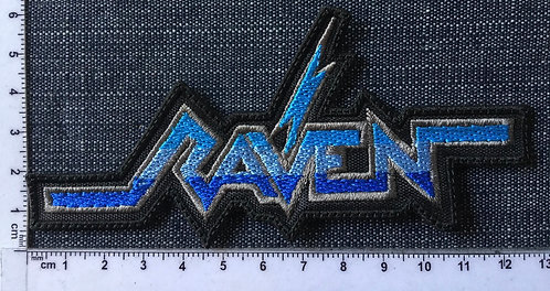RAVEN - SHAPE LOGO EMBROIDERED PATCH