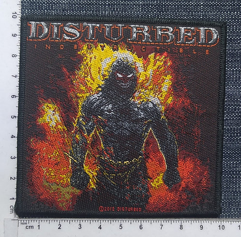 DISTURBED - INDESTRUCTIBLE WOVEN PATCH