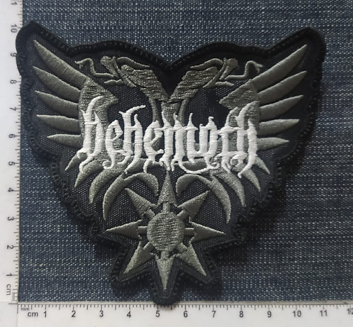 BEHEMOTH - EAGLES SHAPED EMBROIDERED PATCH