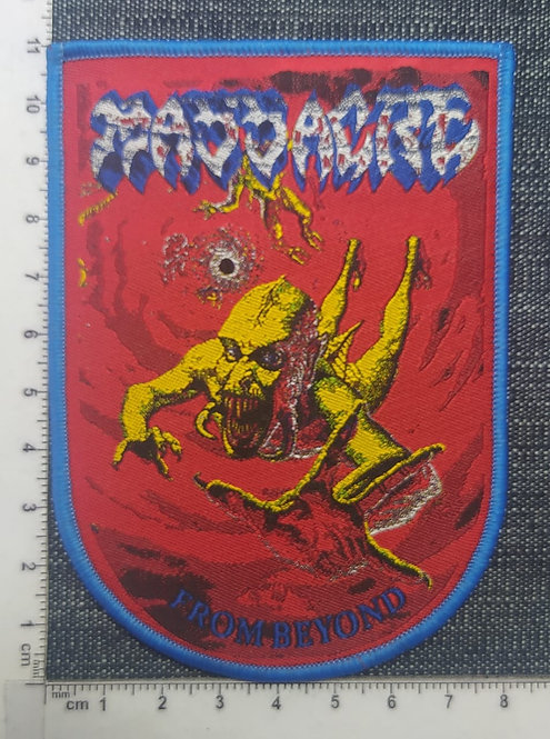 MASSACRE - FROM BEYOND (ARC SHAPED) WOVEN PATCH