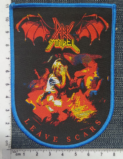 DARK ANGEL - LEAVE SCARS WOVEN PATCH