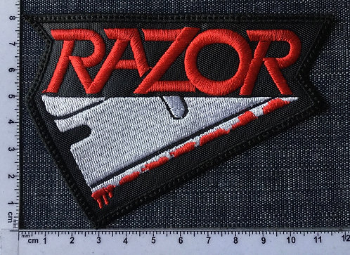 RAZOR - LOGO EMBROIDERED PATCH