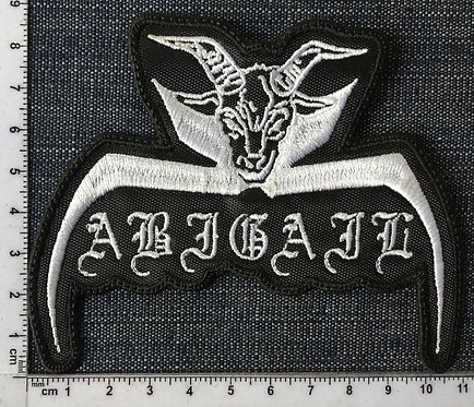 ABIGAIL - GOAT EMBROIDERED PATCH