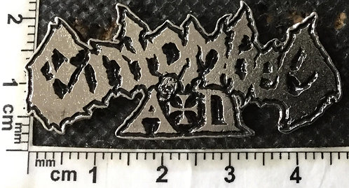 ENTOMBED A.D.  -LOGO  Metal pin