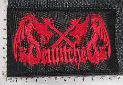 BEWITCHED - EMBROIDERED RED PATCH