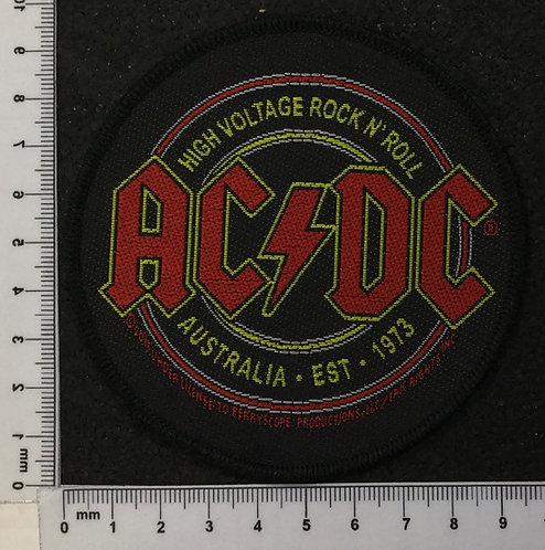 AC/DC - AUSTRALIA EST. 1973 WOVEN PATCH
