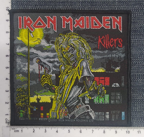 IRON MAIDEN - KILLERS (COVER) WOVEN PATCH