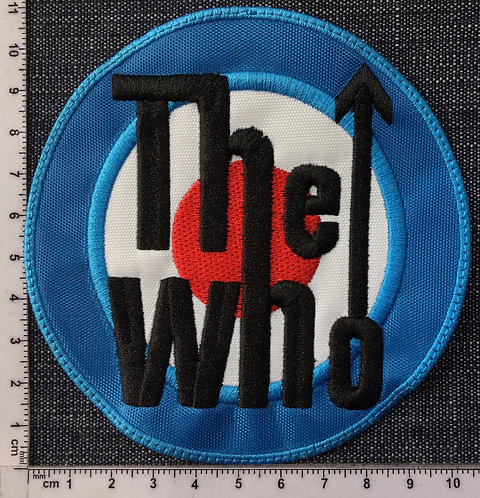 THE WHO - LOGO EMBROIDERED PATCH