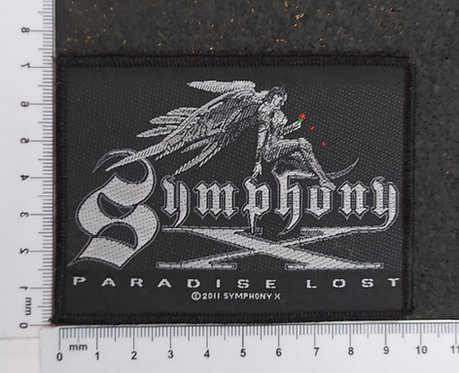 SYMPHONY X - PARADISE LOST WOVEN PATCH