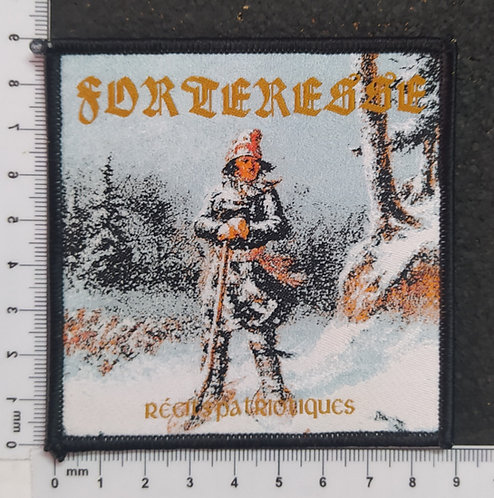 FORTERESSE - RECITS PATROTIQUES WOVEN PATCH